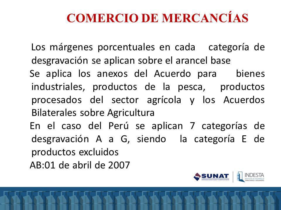 COMERCIO DE MERCANCÍAS