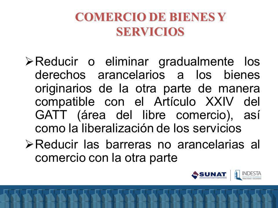 COMERCIO DE BIENES Y SERVICIOS