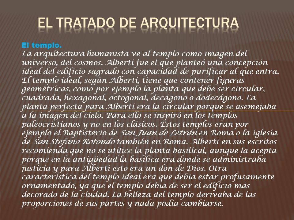 El tratado de arquitectura