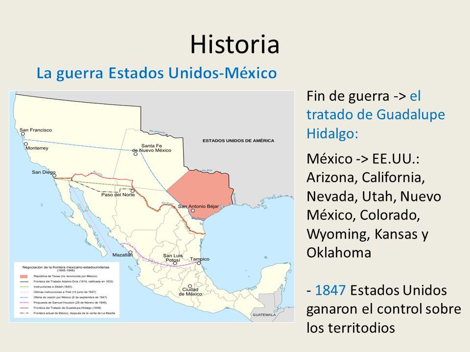 Historia La guerra Estados Unidos-México