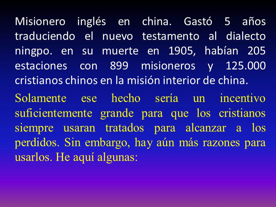 Misionero inglés en china