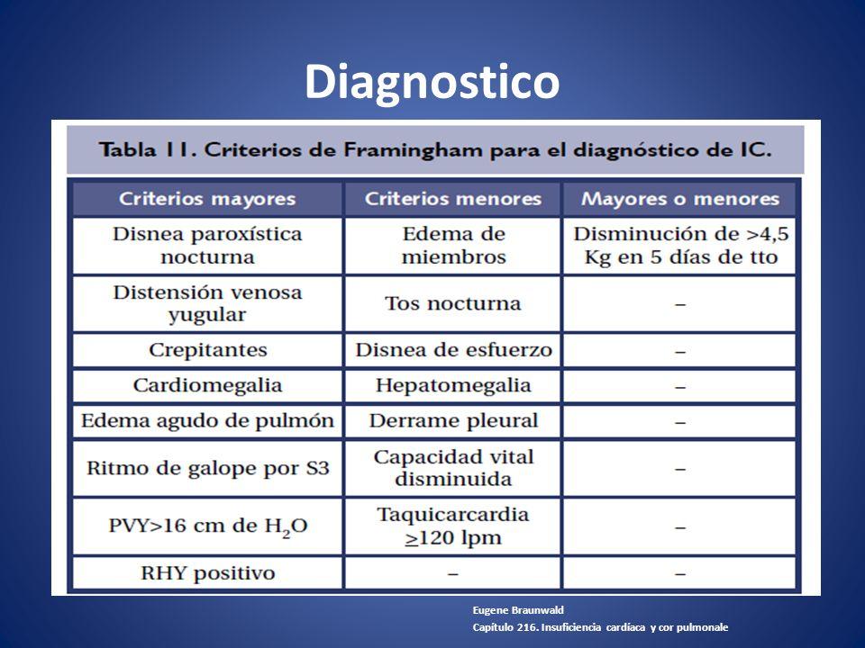 Diagnostico Eugene Braunwald