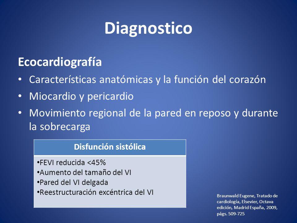 Diagnostico Ecocardiografía