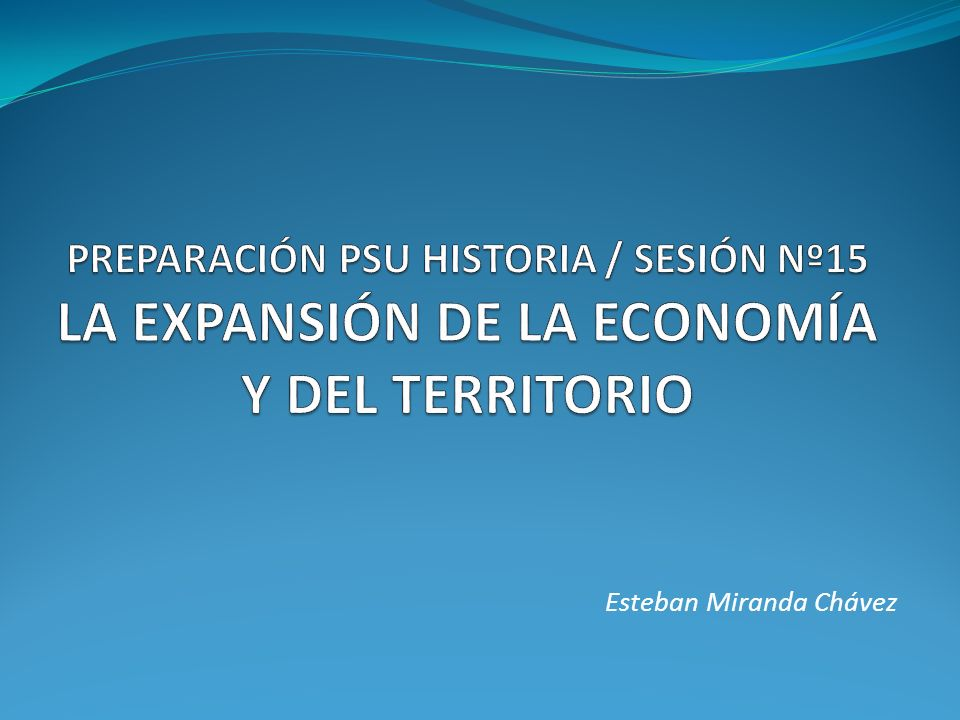 Esteban Miranda Chávez