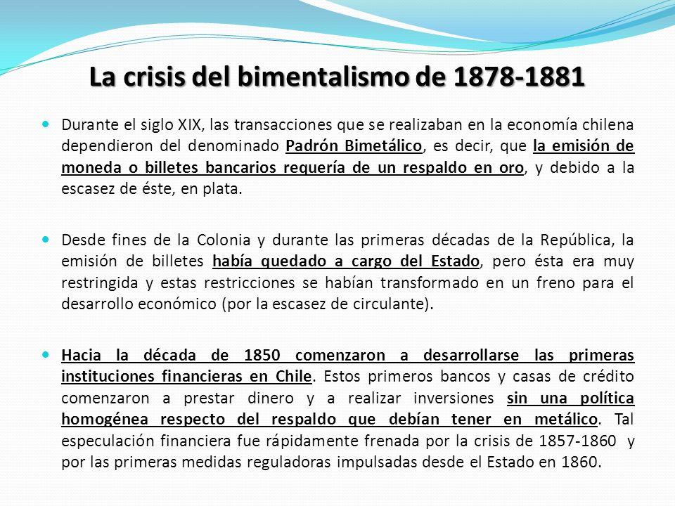 La crisis del bimentalismo de 1878-1881