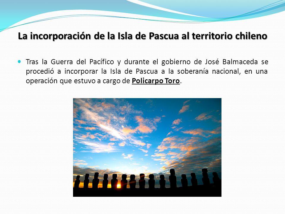 La incorporación de la Isla de Pascua al territorio chileno