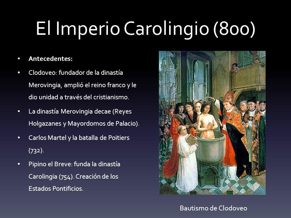 El Imperio Carolingio (800)