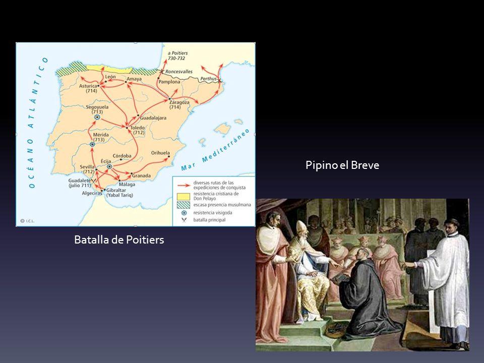 Pipino el Breve Batalla de Poitiers