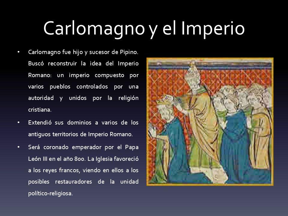Carlomagno y el Imperio