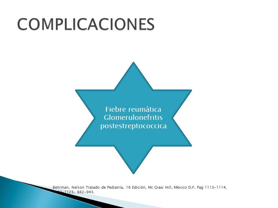 Glomerulonefritis postestreptococcica
