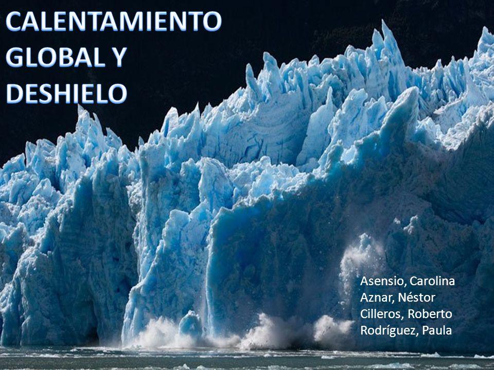 CALENTAMIENTO GLOBAL Y DESHIELO