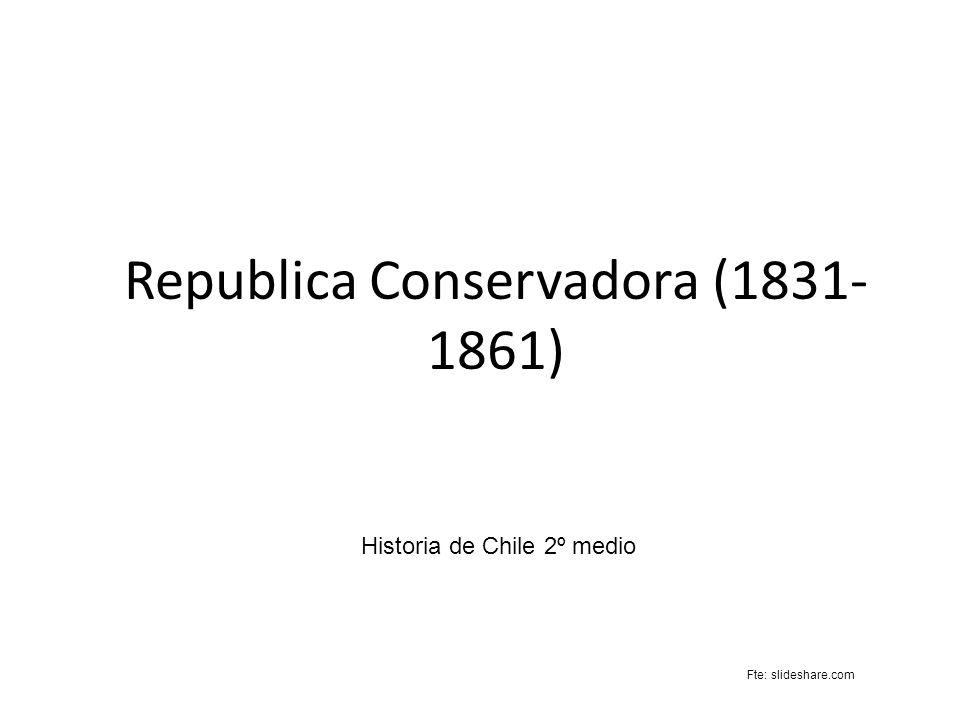 Republica Conservadora (1831-1861)