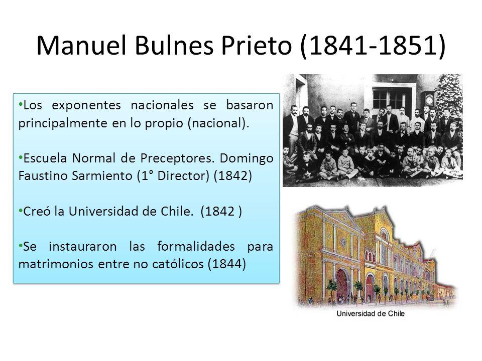 Manuel Bulnes Prieto (1841-1851)