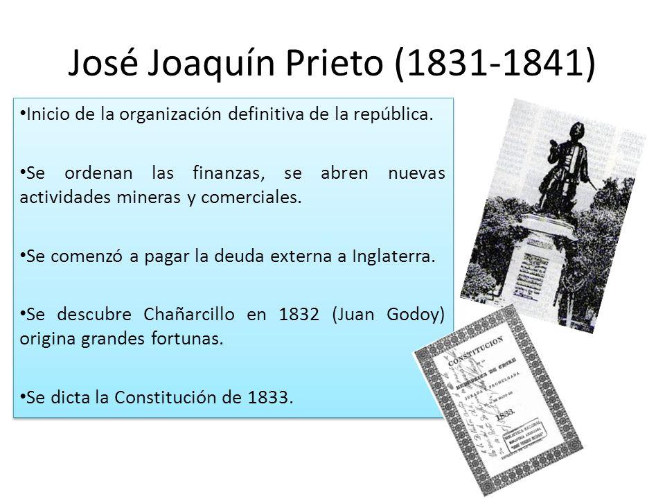 José Joaquín Prieto (1831-1841)