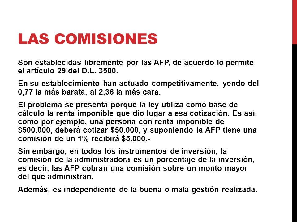 Las Comisiones