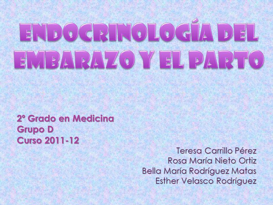 Endocrinología del Embarazo y el Parto