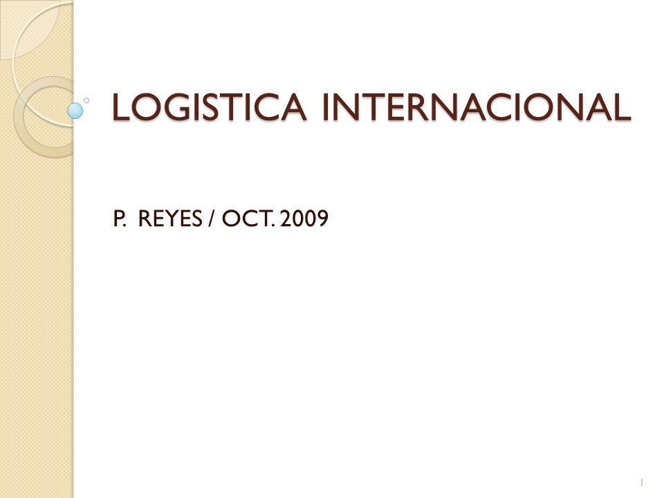 LOGISTICA INTERNACIONAL