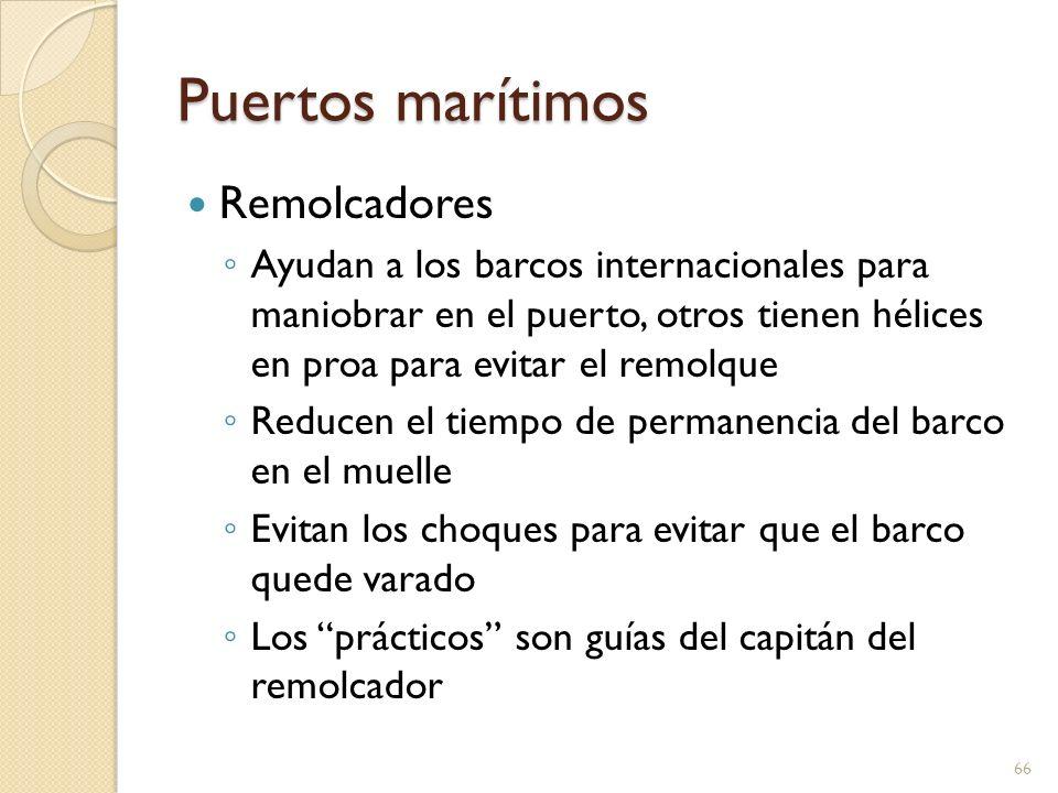 Puertos marítimos Remolcadores