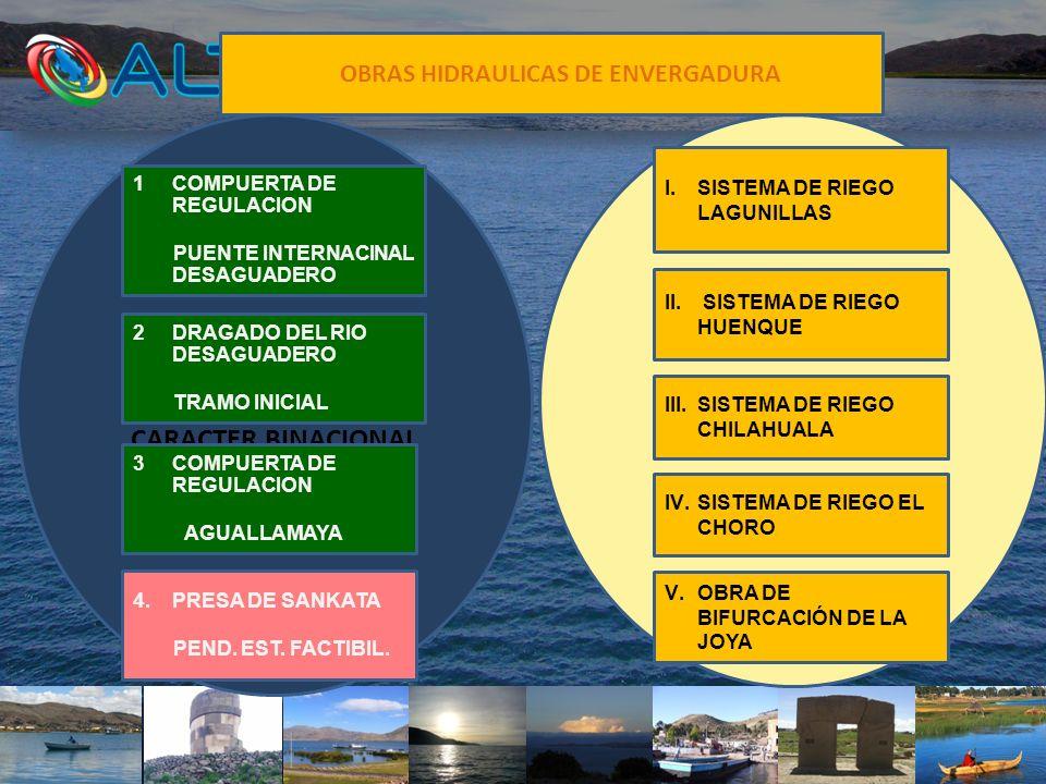 OBRAS HIDRAULICAS DE ENVERGADURA