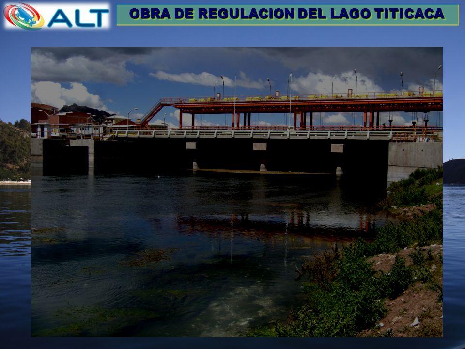 OBRA DE REGULACION DEL LAGO TITICACA