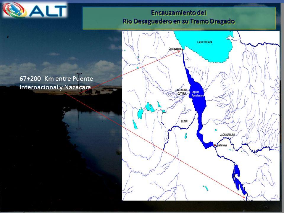 Rio Desaguadero en su Tramo Dragado