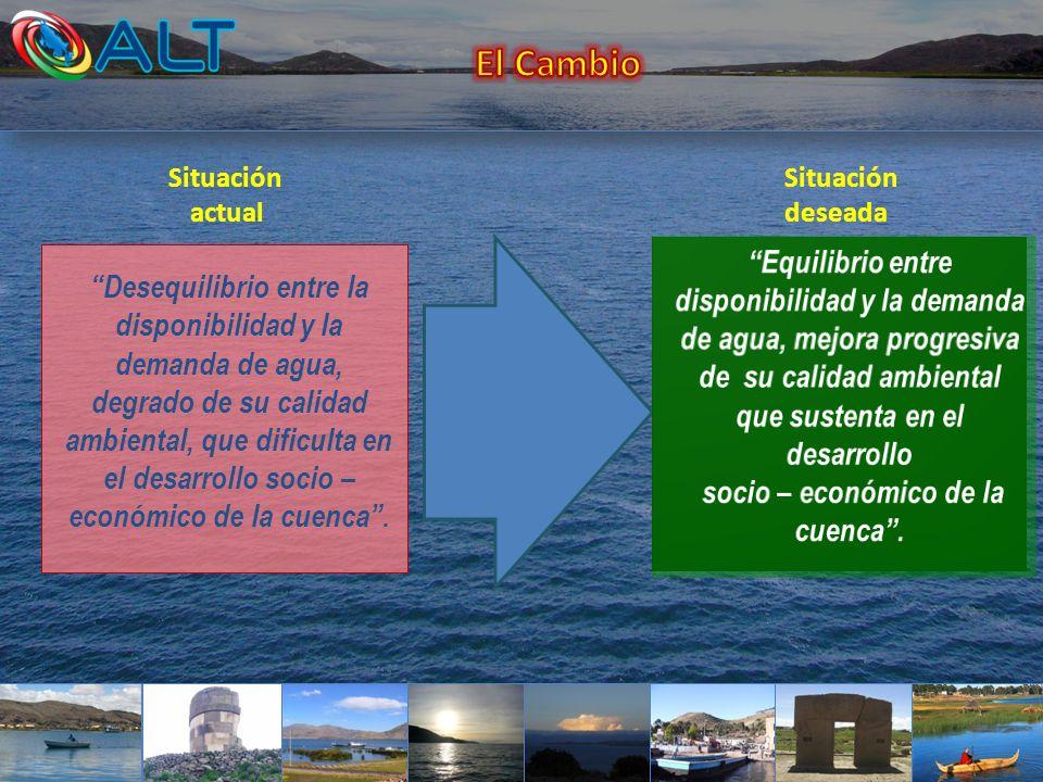socio – económico de la cuenca .