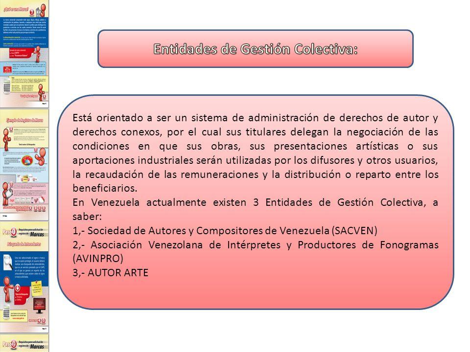 Entidades de Gestión Colectiva: