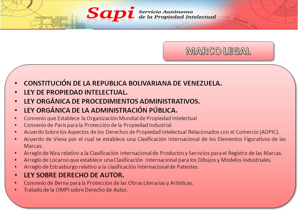 MARCO LEGAL CONSTITUCIÓN DE LA REPUBLICA BOLIVARIANA DE VENEZUELA.