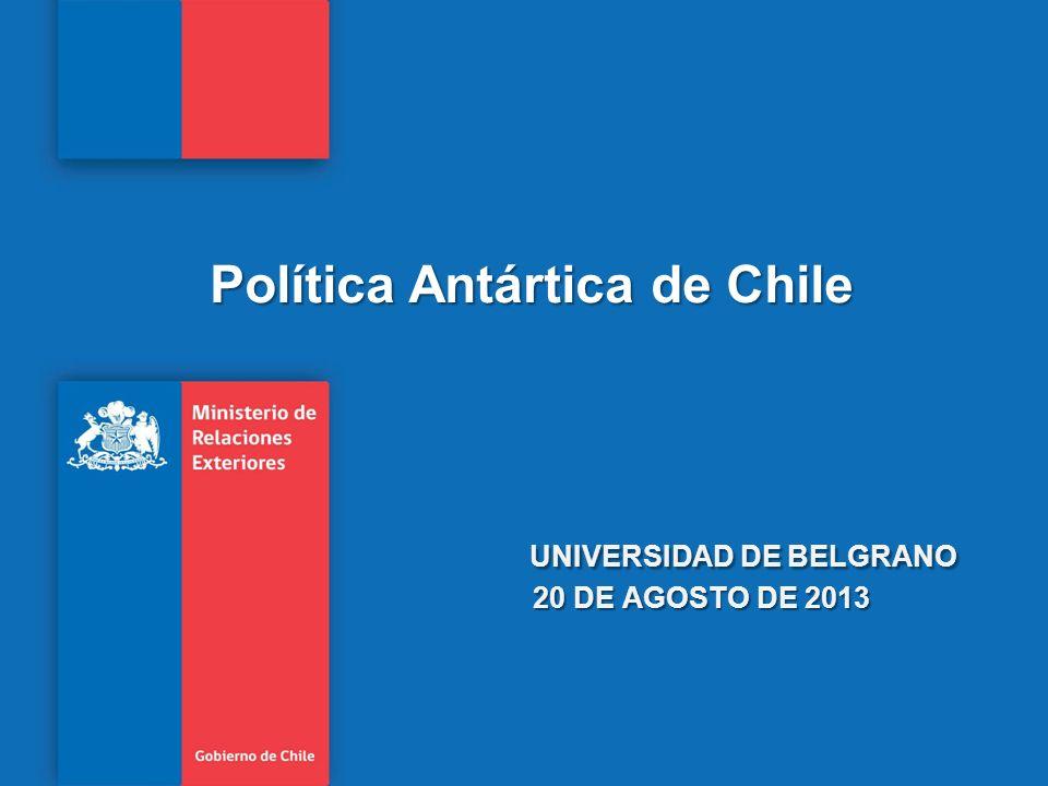 Universidad de Belgrano 20 de agosto de 2013