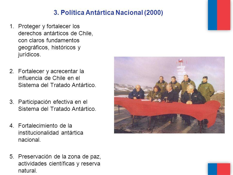 3. Política Antártica Nacional (2000)