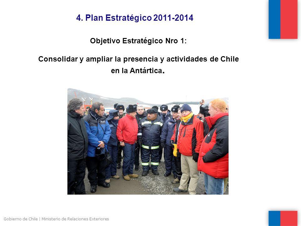 4. Plan Estratégico 2011-2014 Objetivo Estratégico Nro 1: