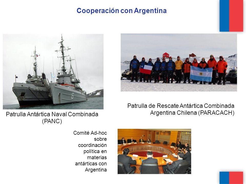 Cooperación con Argentina