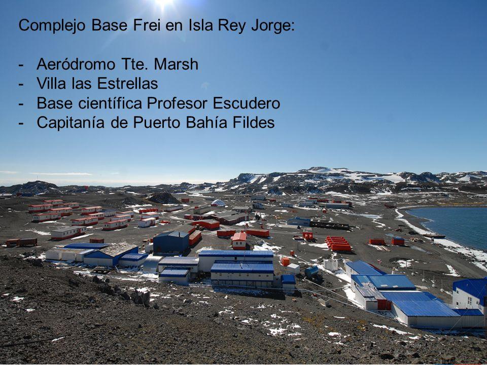 Complejo Base Frei en Isla Rey Jorge: