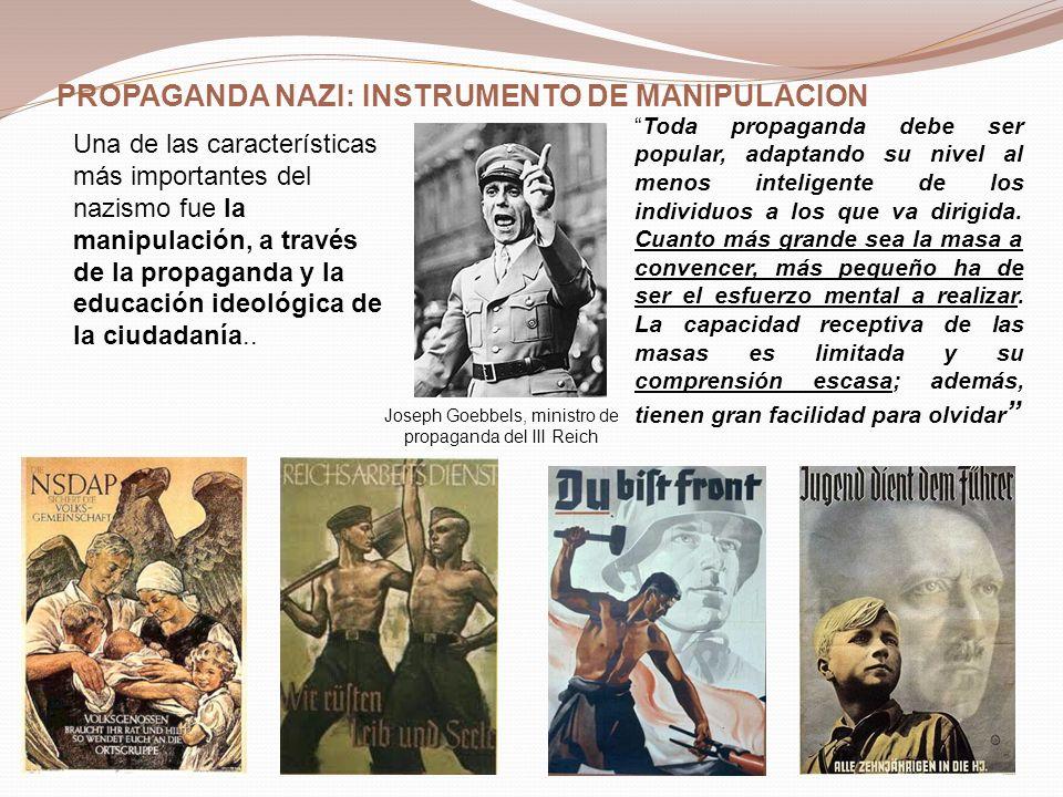 Joseph Goebbels, ministro de propaganda del III Reich
