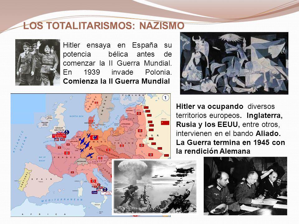 LOS TOTALITARISMOS: NAZISMO