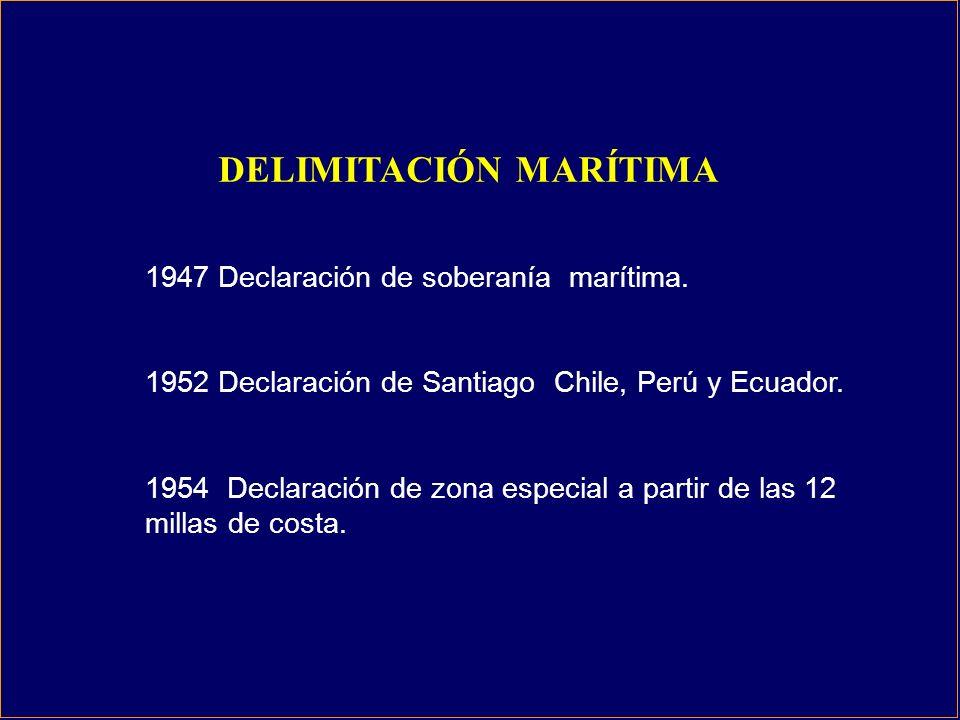 1947 Declaración de soberanía marítima.