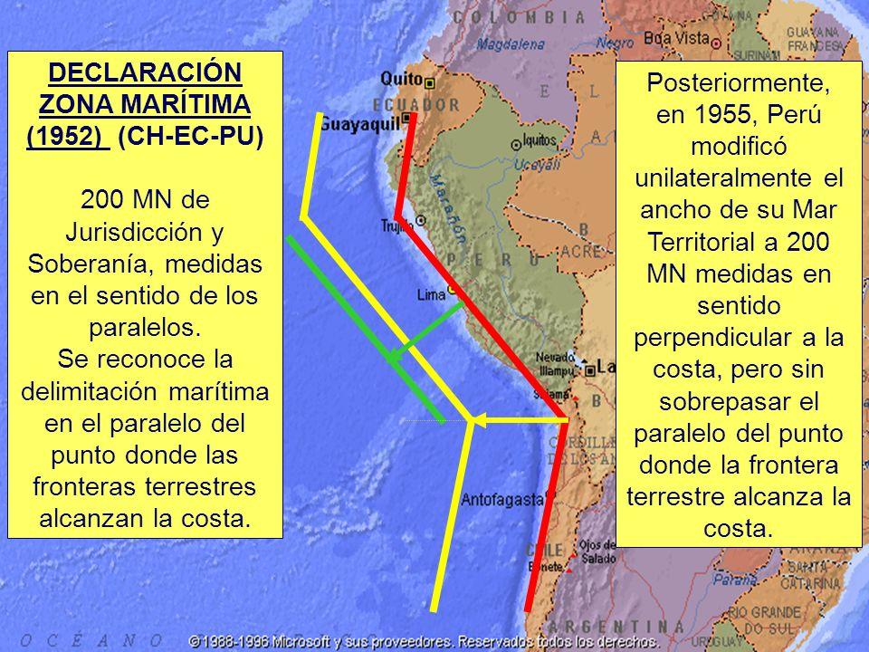 DECLARACIÓN ZONA MARÍTIMA (1952) (CH-EC-PU)