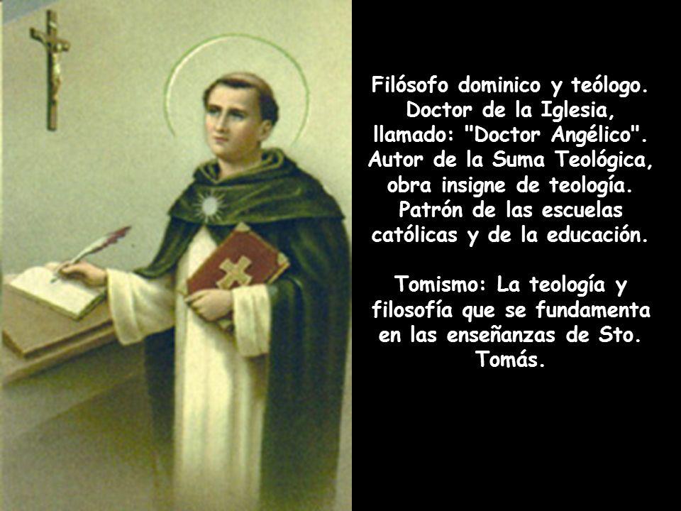 Filósofo dominico y teólogo.