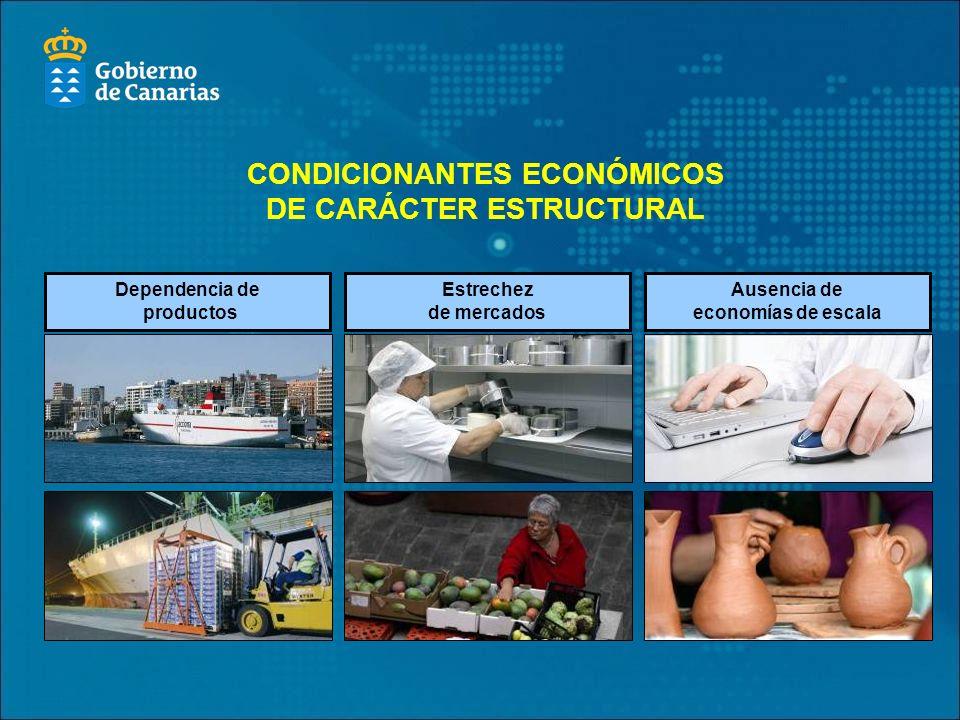 CONDICIONANTES ECONÓMICOS DE CARÁCTER ESTRUCTURAL