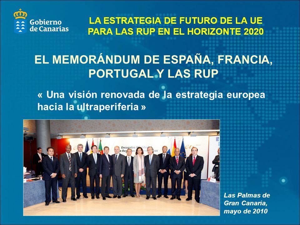 EL MEMORÁNDUM DE ESPAÑA, FRANCIA, PORTUGAL Y LAS RUP