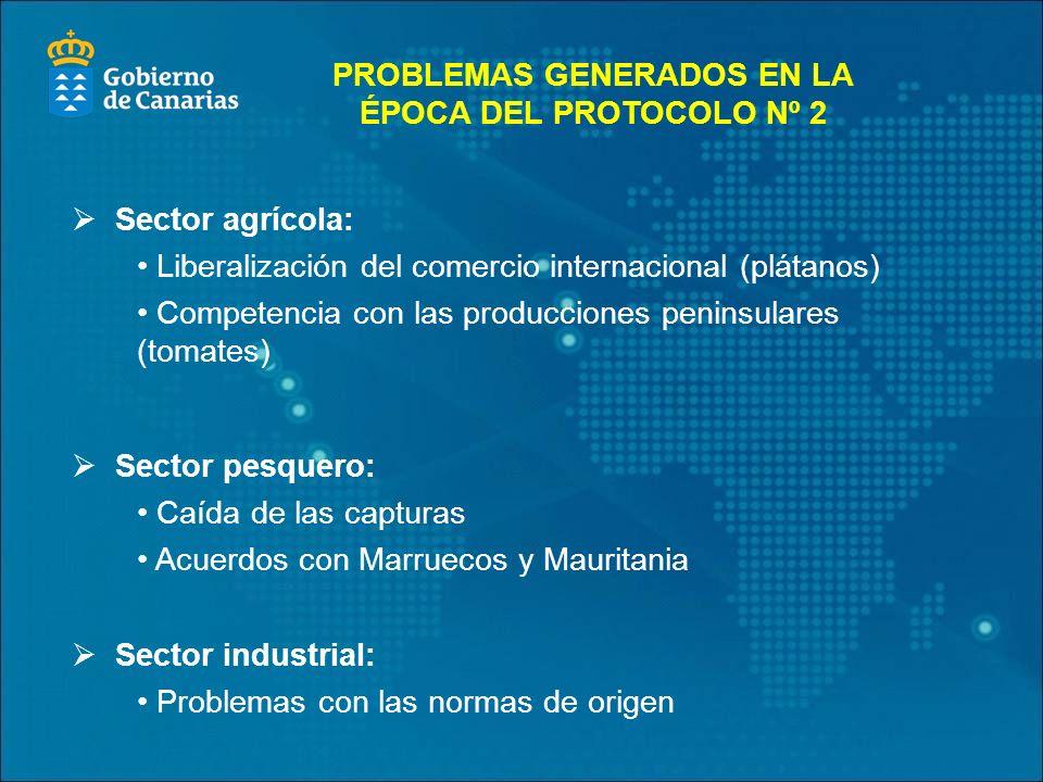 PROBLEMAS GENERADOS EN LA ÉPOCA DEL PROTOCOLO Nº 2