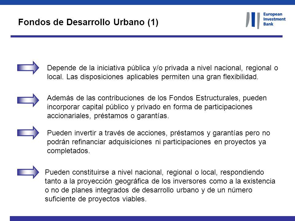 Fondos de Desarrollo Urbano (1)