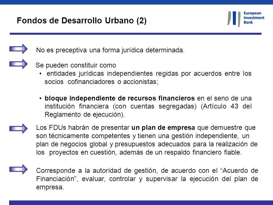 Fondos de Desarrollo Urbano (2)