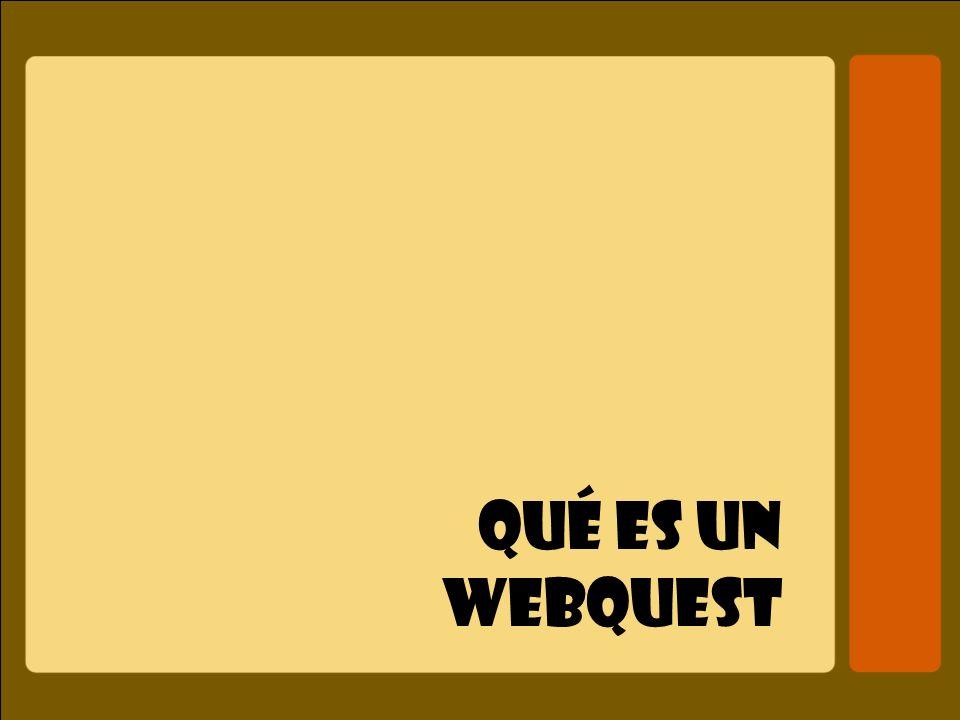 Qué es un webquest