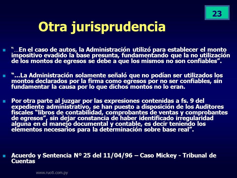 Otra jurisprudencia