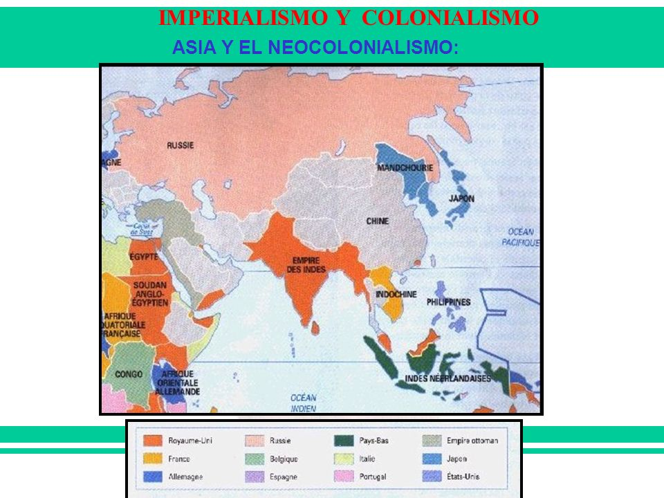 ASIA Y EL NEOCOLONIALISMO: