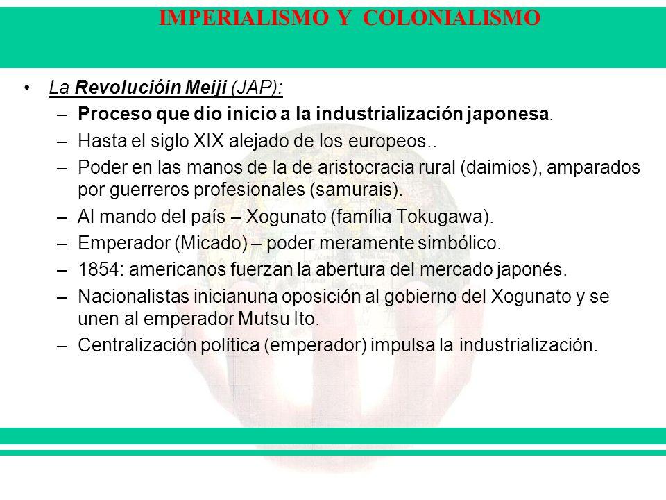 La Revolucióin Meiji (JAP):