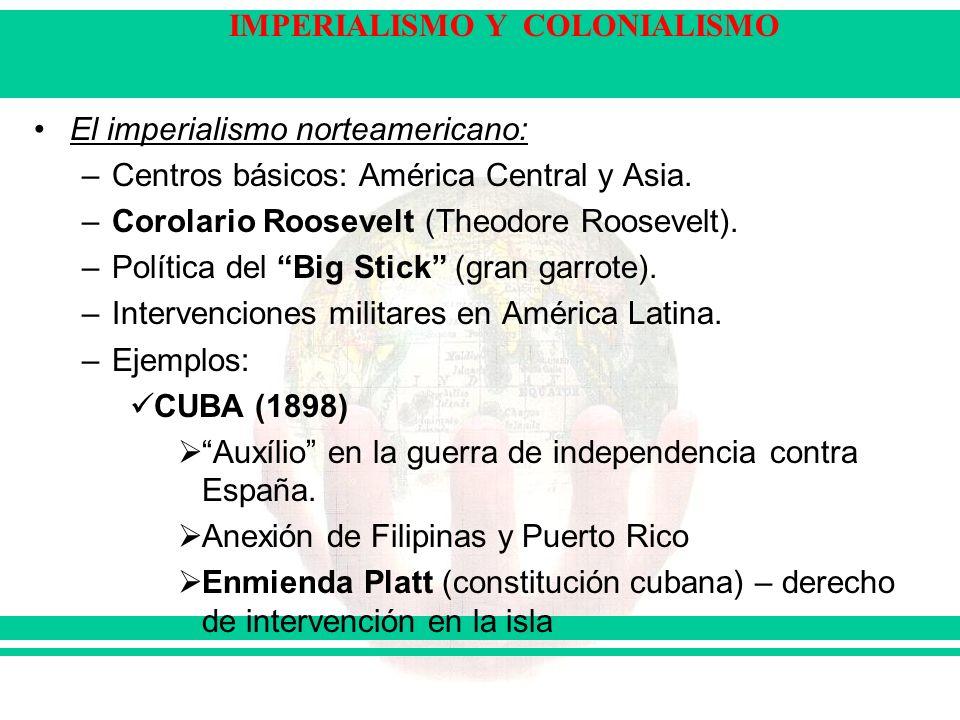 El imperialismo norteamericano: