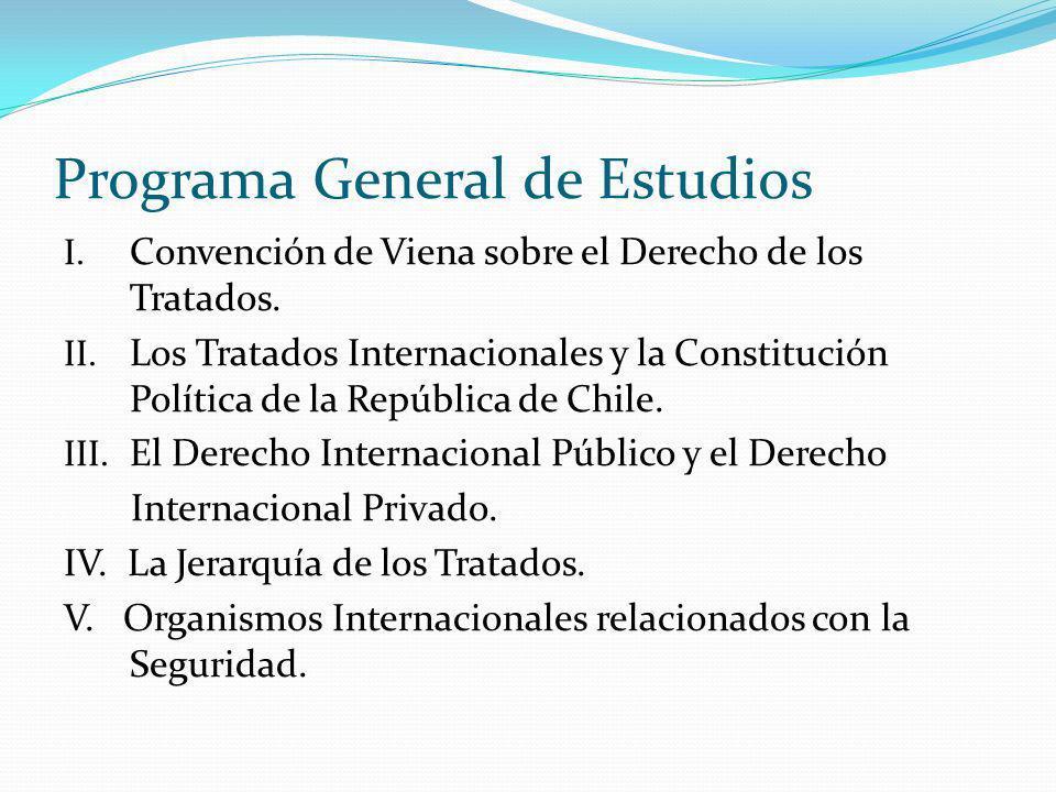 Programa General de Estudios