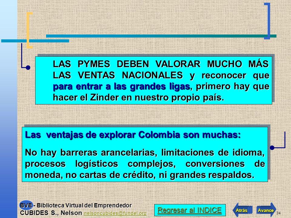 Las ventajas de explorar Colombia son muchas: